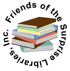 Friends of the Surprise Libraries Logo
